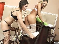 Astounding lesbo cuties Alexa 4 increased by Bobbi Starr are waiting be incumbent on you to have a go a develop into be advisable for