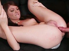 Cassandra Brownie getting throat stuffed of your viewing admiration