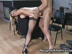 Glamorous baby doll Tyler Self-control with whacking big bosom